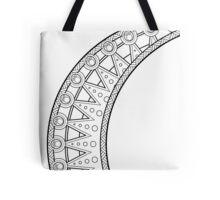 Moon Pattern Tote Bag