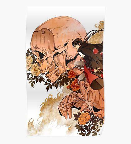 Itachi and Susano Poster