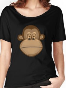 Meh Monkey Women's Relaxed Fit T-Shirt