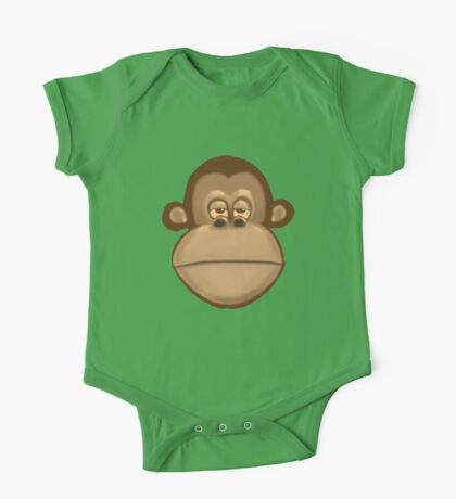 Meh Monkey One Piece - Short Sleeve
