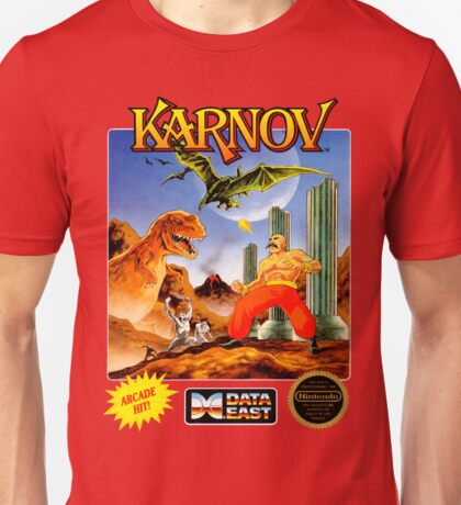 Karnov - NES Box Art Unisex T-Shirt