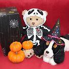 Teddy Ready for Halloween by AnnDixon