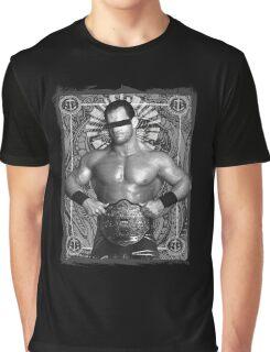 Chris Benoit Gone But Forgotten Tribute Graphic T-Shirt
