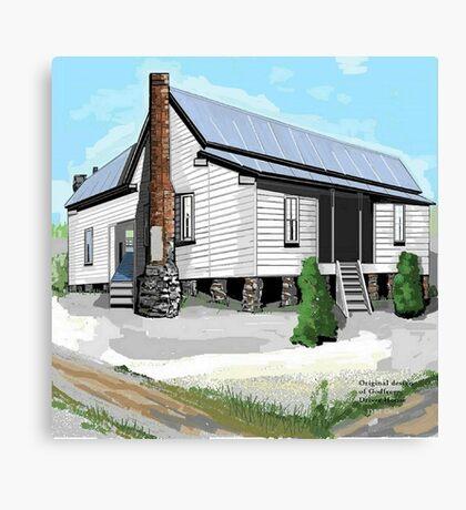 Vintage Farmhouse Canvas Print