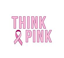 Think Pink Photographic Print