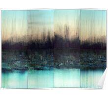 Urbanity: City Skyline Poster