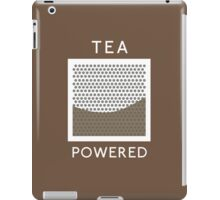 Tea Powered. iPad Case/Skin