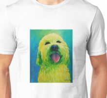 Shaggy Dog in Yellow Unisex T-Shirt