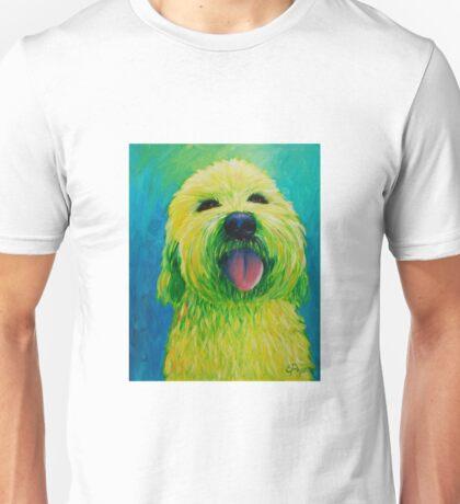 Shaggy Dog in Yellow Unisex T-Shirt