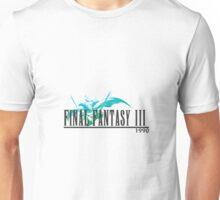 Final Fantasy 3 Logo Unisex T-Shirt