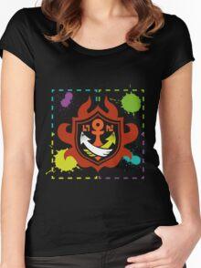 Splatoon - Game of Zones Women's Fitted Scoop T-Shirt