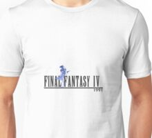 Final Fantasy 4 Logo Unisex T-Shirt