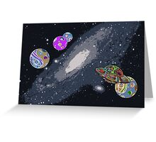 Lost In Space I Greeting Card
