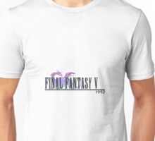 Final Fantasy 5 Logo Unisex T-Shirt