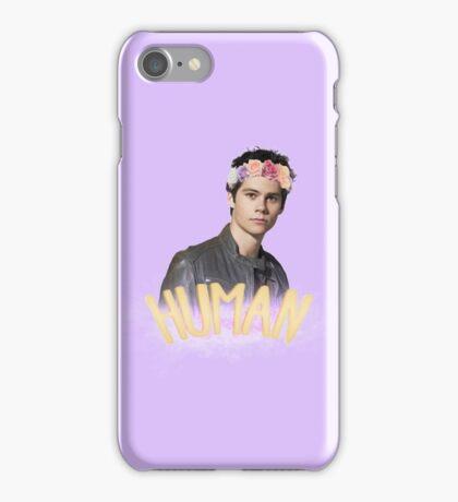 Human - Stiles Stilinski iPhone Case/Skin