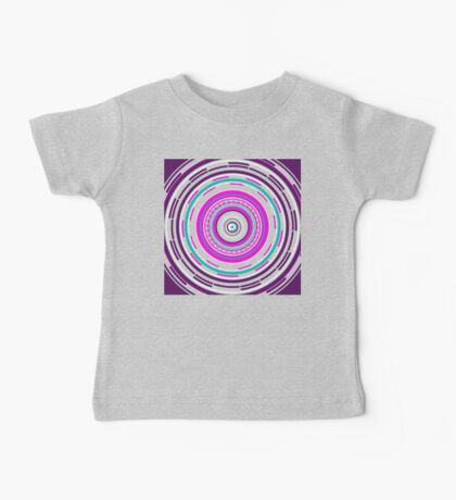 Psychedelic Tunnel Baby Tee