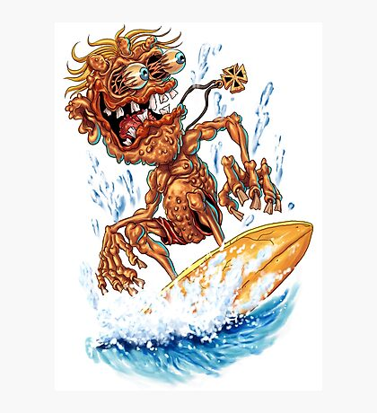Bug Eyed Surf Monster Photographic Print