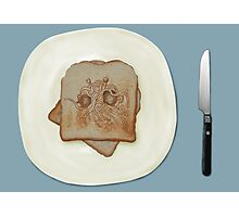 Blessed Noodly Appendages On Toast 2013 Photographic Print