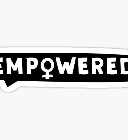 EMPOWERED – bubble Sticker