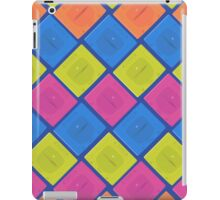 Sega Saturn neon (blue) iPad Case/Skin