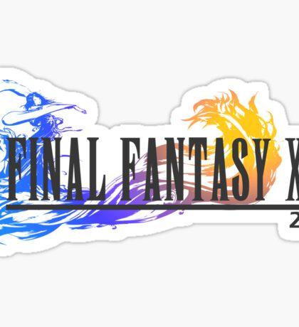 Final Fantasy 10 Logo Sticker