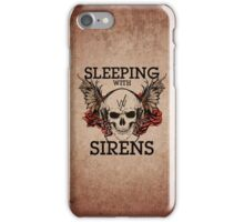 Sleeping With Sirens - Grunge Skull iPhone Case/Skin