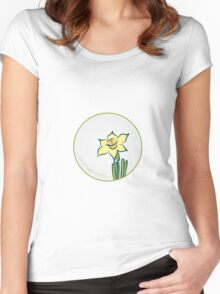 Like a lily Women's Fitted Scoop T-Shirt
