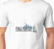 Final Fantasy 11 Logo Unisex T-Shirt