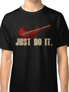 The Walking Dead - Just Do It  Classic T-Shirt