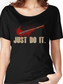 The Walking Dead - Just Do It  Women's Relaxed Fit T-Shirt