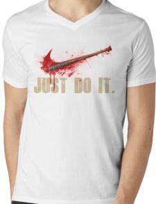 The Walking Dead - Just Do It  Mens V-Neck T-Shirt