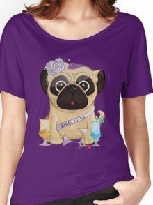Bachelorette Pug Women's Relaxed Fit T-Shirt