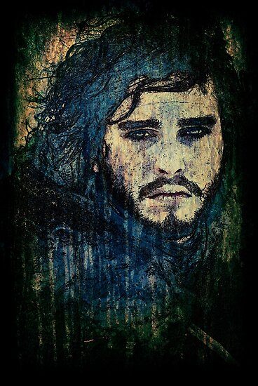 Jon Snow by David Atkinson