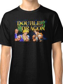 Double Dragon (Neo Geo Title Screen) Classic T-Shirt