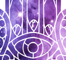 Galaxy Hamsa Sticker