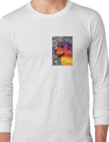 Canine Sunset - Dog Design Long Sleeve T-Shirt