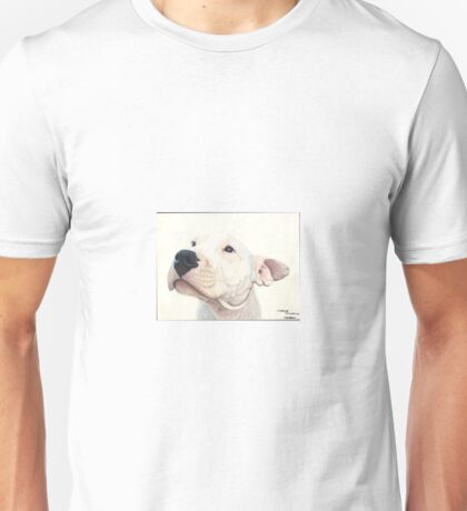 Troy the white puppy Unisex T-Shirt