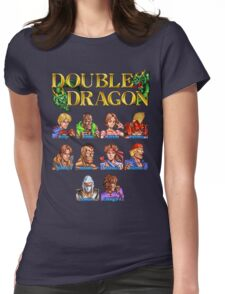 Double Dragon (Neo Geo Character Lineup) Womens Fitted T-Shirt