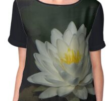 Water Lily Love Chiffon Top