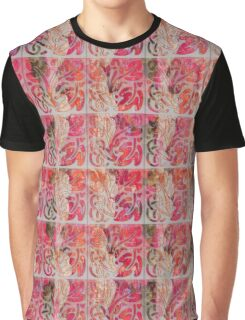 Stencil Rosa Graphic T-Shirt