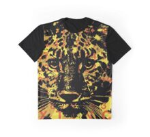 Endangered Species - Amur Leopard Graphic T-Shirt