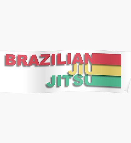 Brazilian Jiu-Jitsu Poster