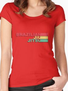 Brazilian Jiu-Jitsu Women's Fitted Scoop T-Shirt