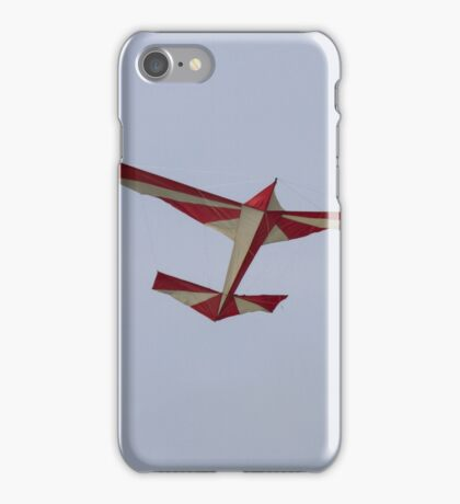 colorful kites airplane  flying in the sky iPhone Case/Skin