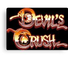 Devil's Crush (TurboGrafx-16) Canvas Print