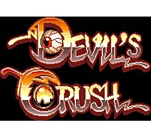 Devil's Crush (TurboGrafx-16) Photographic Print