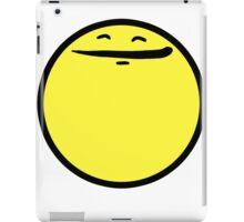 Happy Face (Yellow) iPad Case/Skin