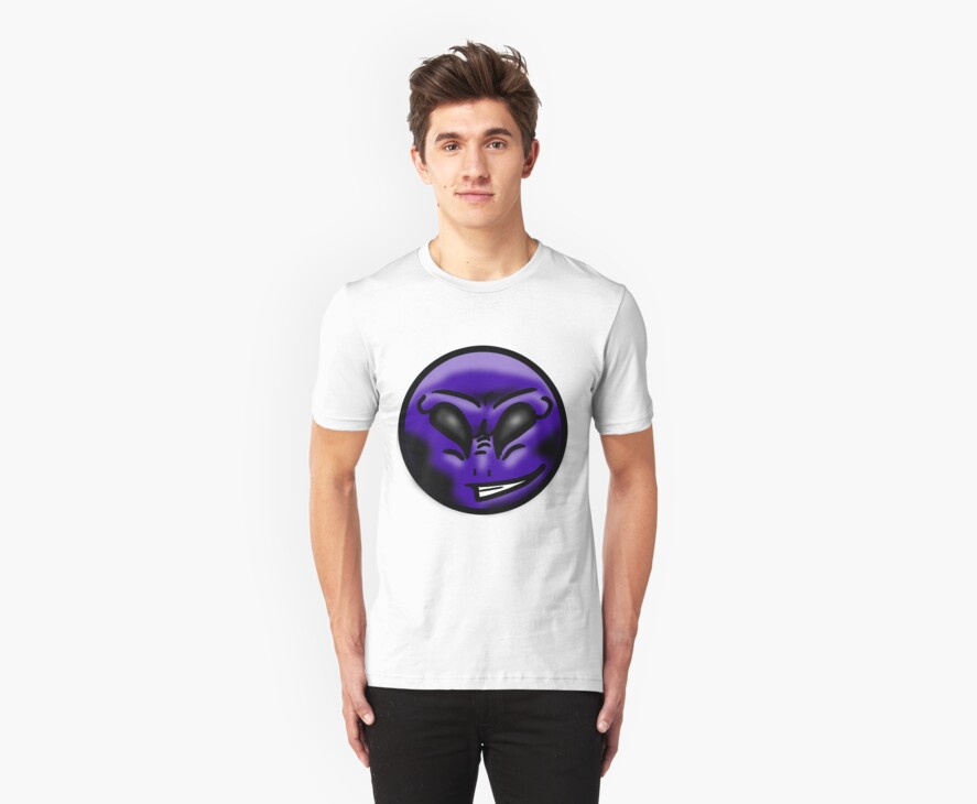 Alien Face (Purple) by cadellin