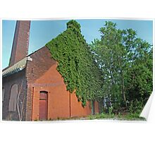 Old West End Mary Manse College Power Plant II Poster