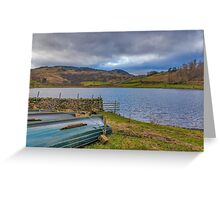 Watendlath Tarn Lake District Greeting Card